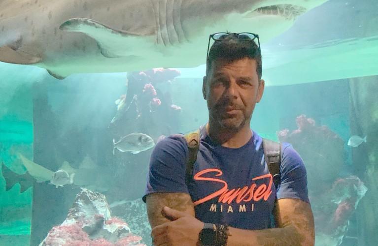 Salvo Sottile tra gli squali